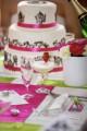 Barevná svatební výzdoba